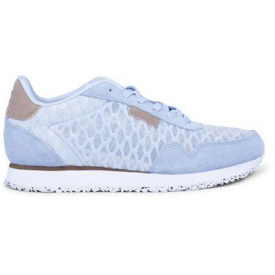 cc22f34992b Woden sneaker Nora II Mesh Ice blue - Oakschoenen